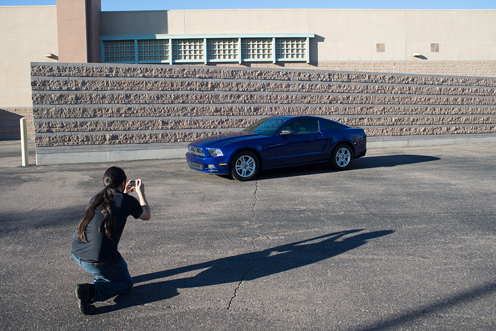 Staff Photographer Tim Heit has been photographing cars for Barrett-Jackson for more than 10 years.