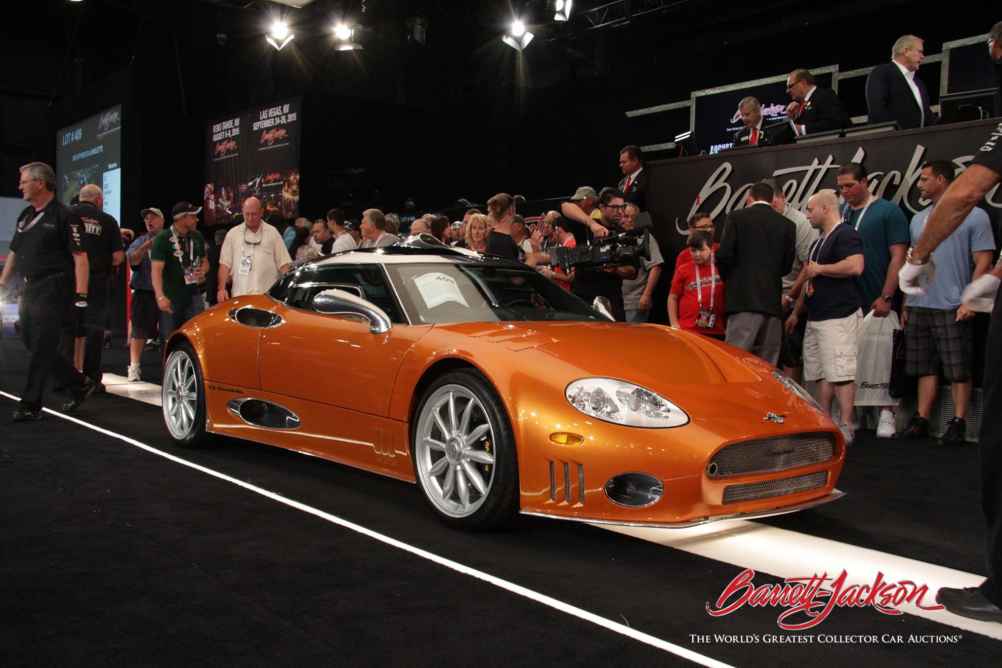 Lot #409 – 2009 Spyker C8 Laviolette – $220,000