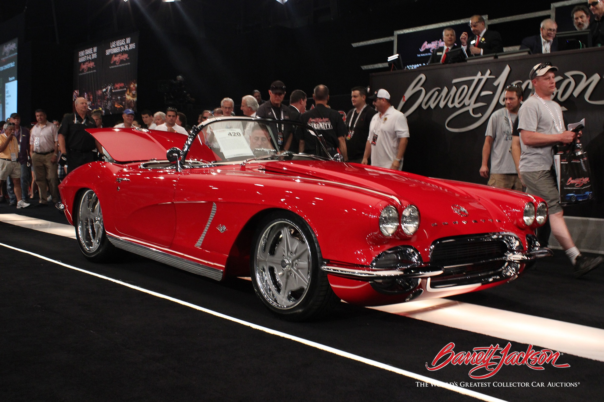 Lot #420 – 1962 Chevrolet Corvette Custom – $192,500