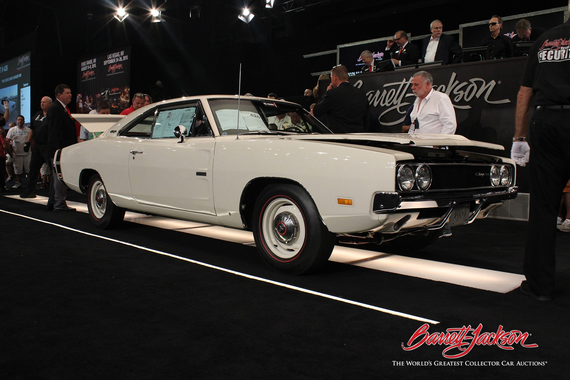 Lot #426 – 1969 Dodge HEMI Charger 500 – $165,000