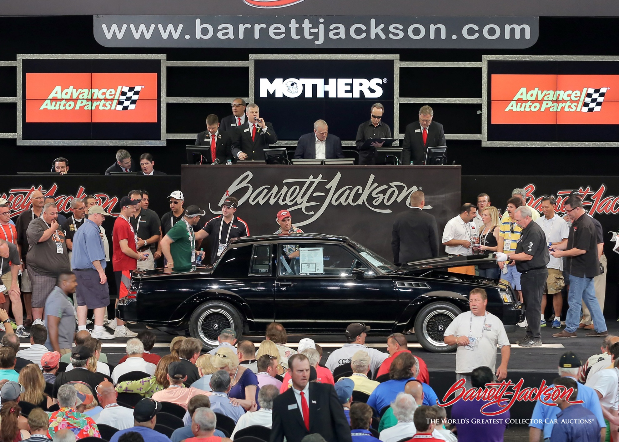 Lot #387 – 1987 Buick Grand National GNX – $165,000 - A NEW WORLD RECORD!