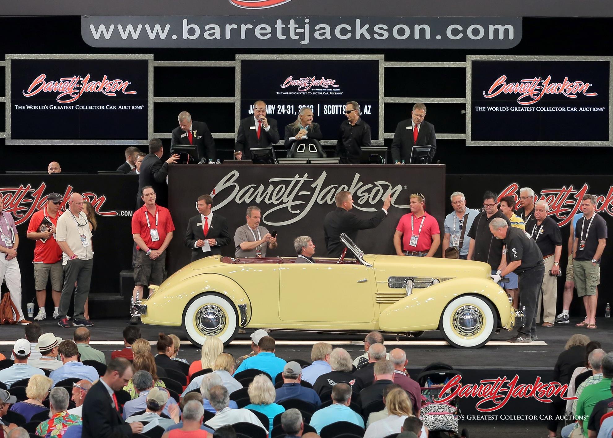 Lot #440 – 1937 Cord 812 Phaeton – $165,000
