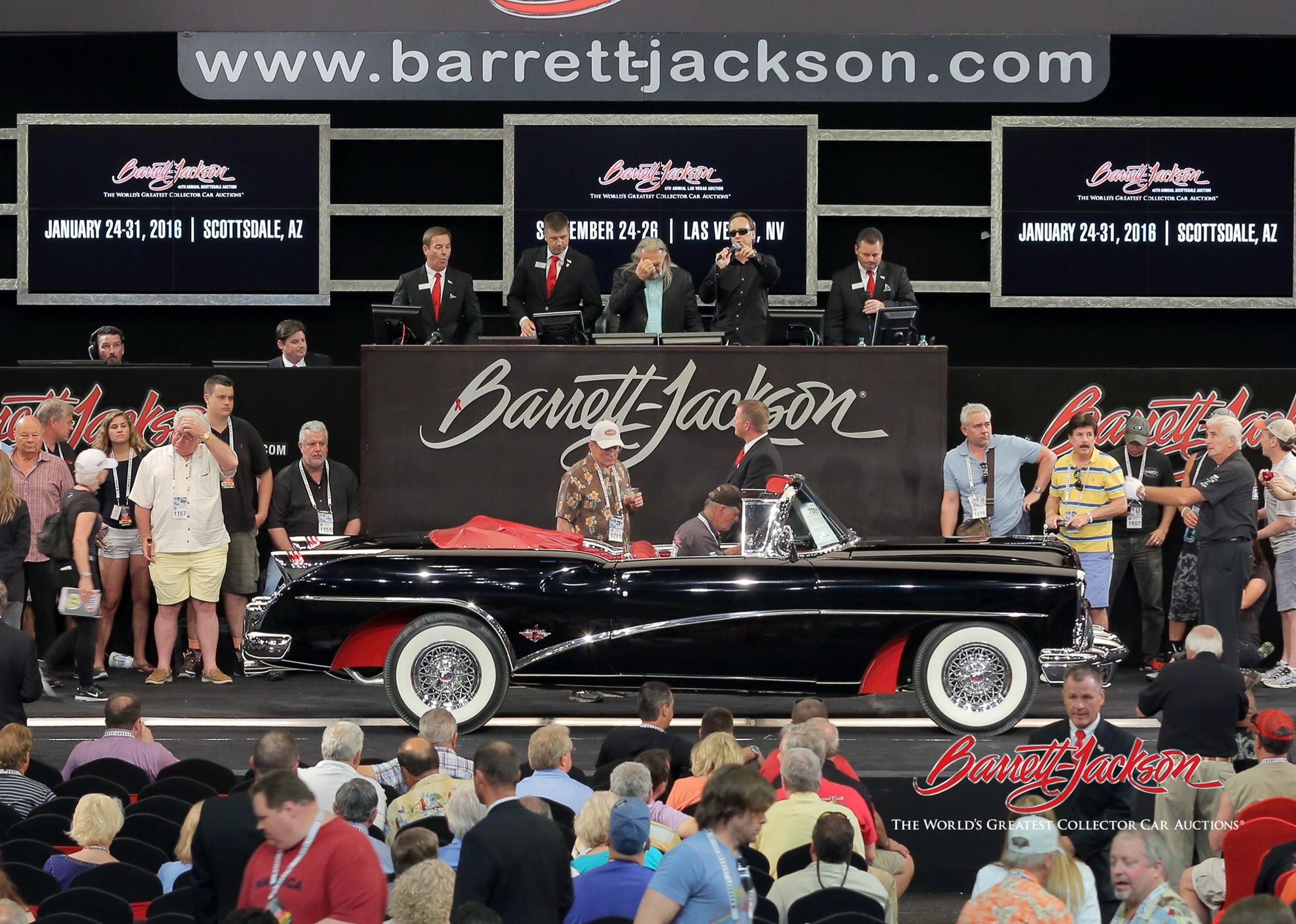 Lot #7001 - 1954 Buick Skylark Convertible - $170,500
