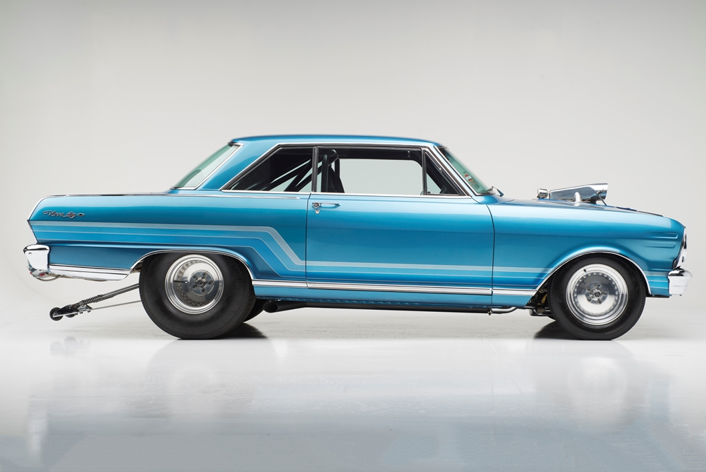 Rick Dobbertin's 1965 Chevrolet Nova, considered one of the most significant and important custom cars ever built, will be crossing the auction block at the 8th Annual Barrett-Jackson Las Vegas Auction, September 24-26, 2015.