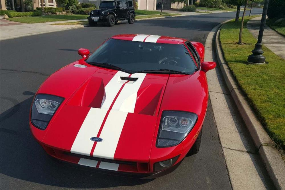 This 2005 Ford GT (Lot #711), is selling at No Reserve at the 8th Annual Las Vegas Auction on Saturday, September 26.