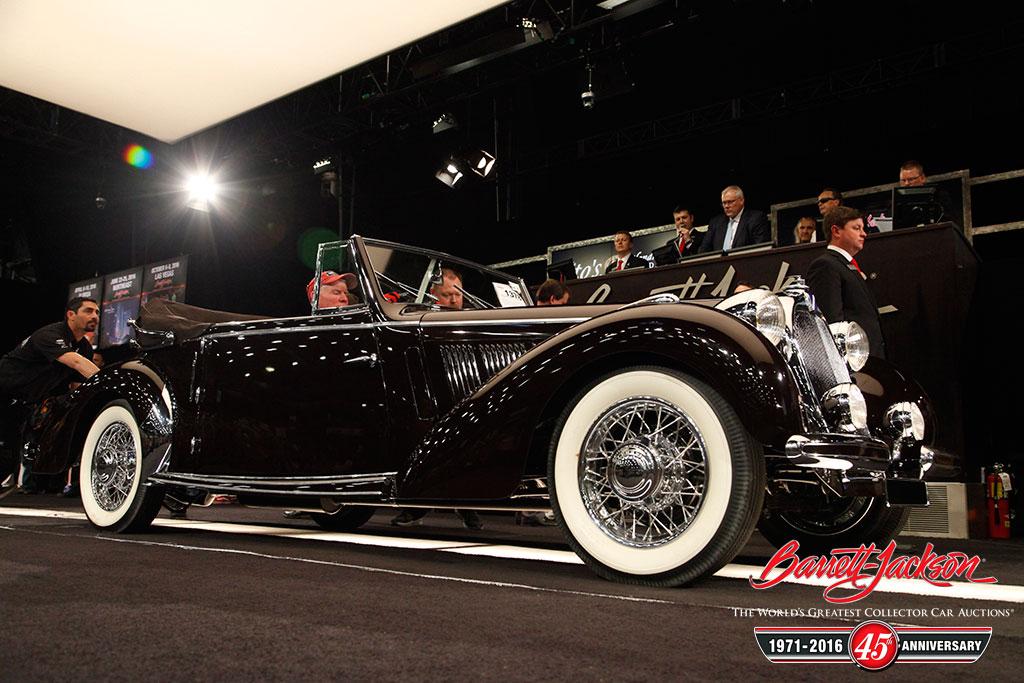 Lot #1378 – 1939 Talbot-Lago T-15 Cabriolet - $550,000
