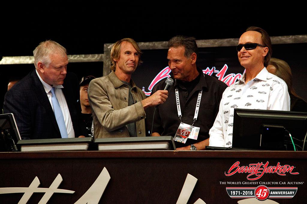Craig Jackson, Michael Bay, Randy Peters and Steve Davis.