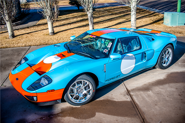 2006 Ford GT Heritage Edition with only 5 actual miles