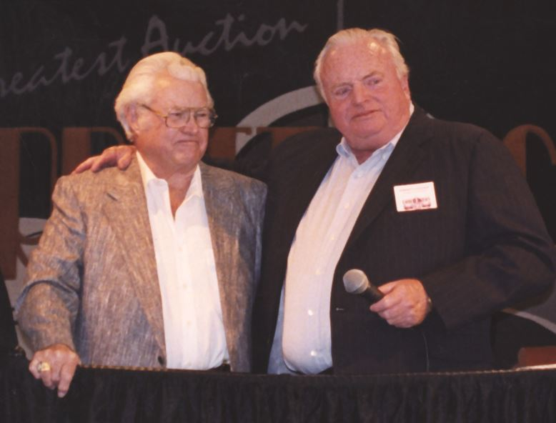 Russ Jackson (left) and Tom Barrett.