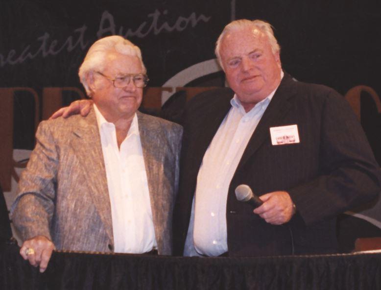 Russ Jackson (left) and Tom Barrett.