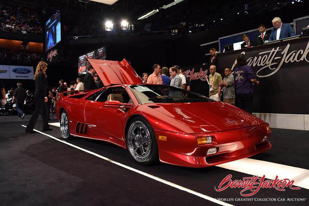 LOT #662 - 1998 LAMBORGHINI DIABLO SV - $236,500