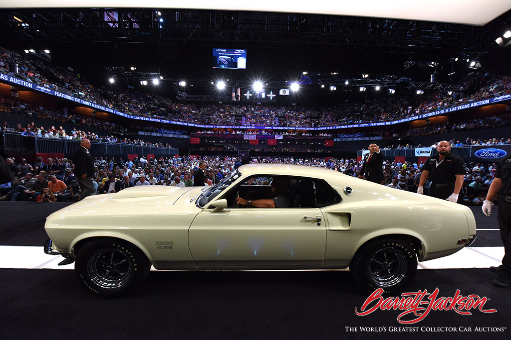 LOT #669 - 1969 FORD MUSTANG BOSS 429 FASTBACK - $346,500