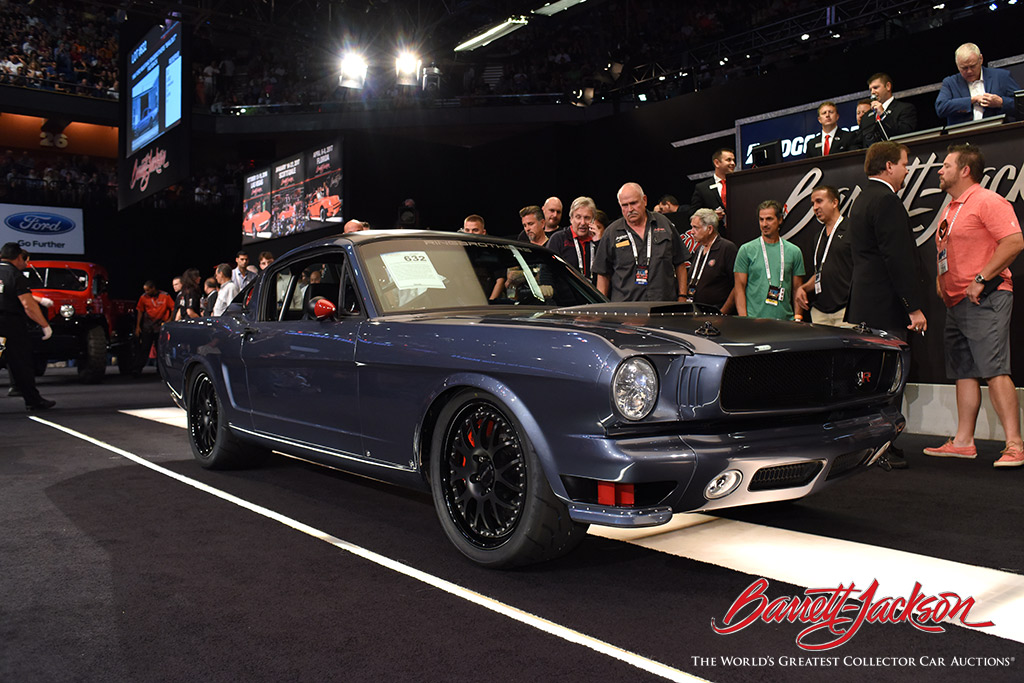 "LOT #632 - 1966 FORD MUSTANG RINGBROTHERS ""BAILOUT"" FASTBACK - $346,500"