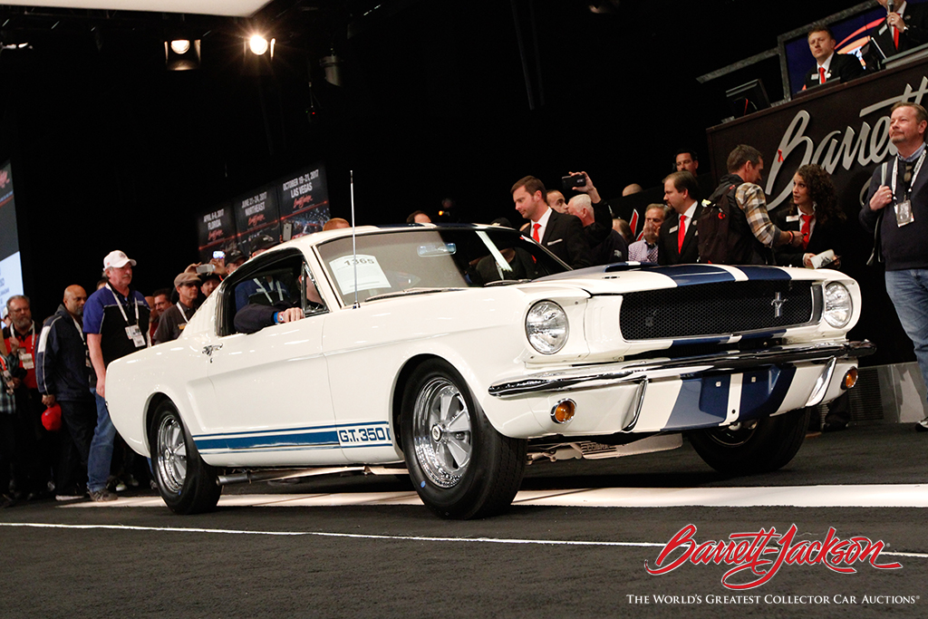 Lot #1365 – a 1965 Shelby GT350 Fastback - sold for $445,500.