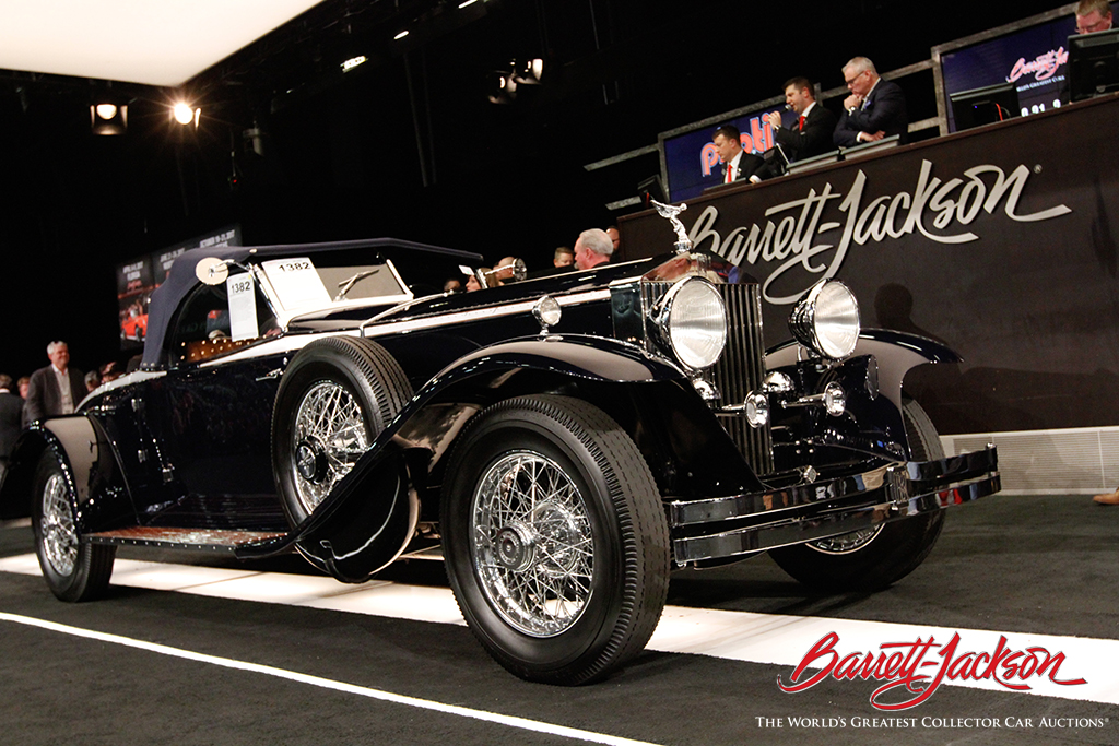 One of the top sellers of the auction was this 1932 Rolls-Royce Roadster (Lot #1382), which sold for $341,000.