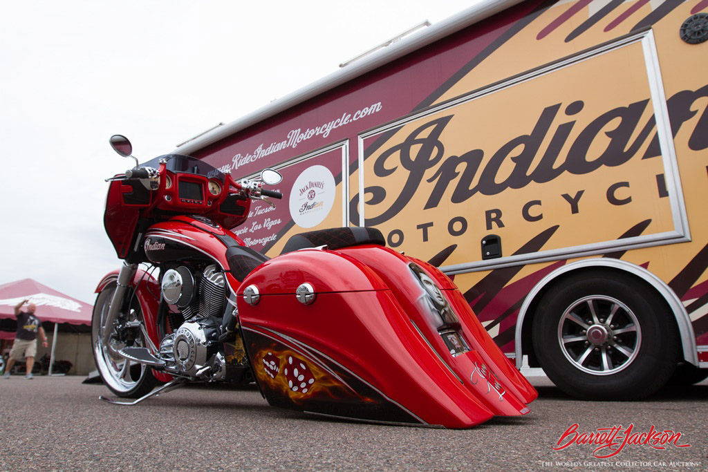 Not only were beautiful Indian Motorcycles on display, but guests could take them on guided demo rides.