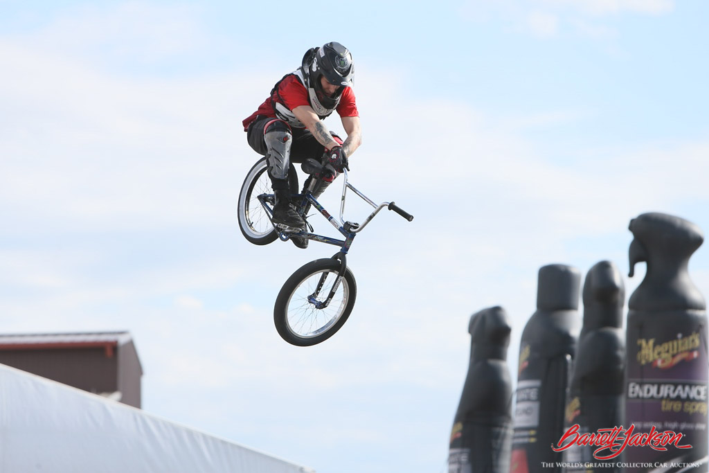The Monster Energy BMX exhibition on Family Value Day was a big hit with visitors of all ages.