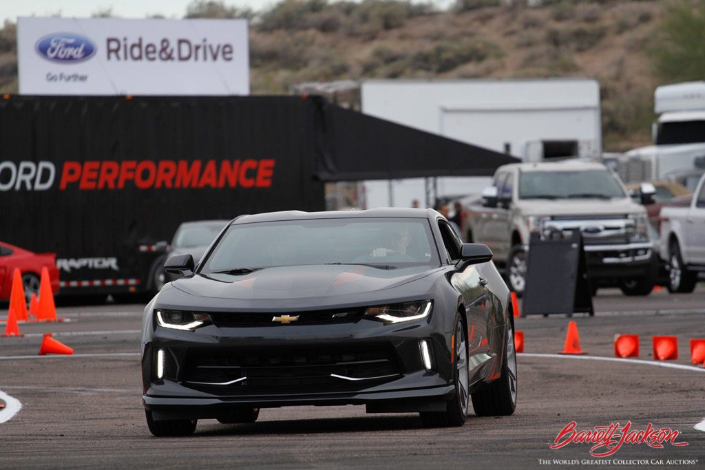 Guests got to check out high-performance vehicles from Chevrolet, Ford and Dodge at the popular Ride 'N Drives and Thrill Rides.