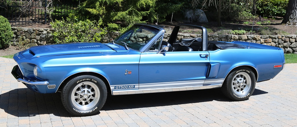 Lee Marvin 1968 Shelby GT500KR Convertible_sideprofile