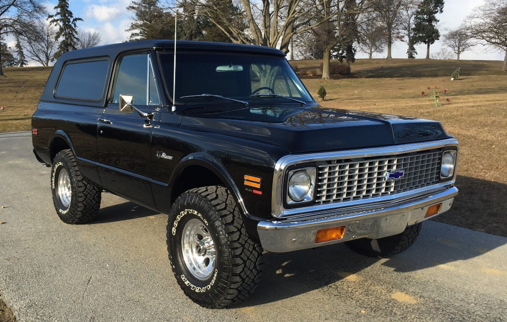 Vintage SUVs - particularly Resto-Mods - have sparked an interest among millennials. This 1971 Chevrolet Custom K5 Blazer (Lot #681), powered by an LS3 430hp engine, likely will attract some attention at the Palm Beach Auction this year.