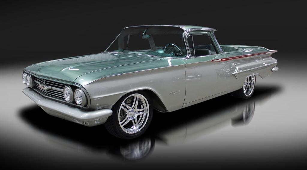 A one-of-a-kind build: 1960 Chevrolet El Camino Custom Pickup (Lot #700).