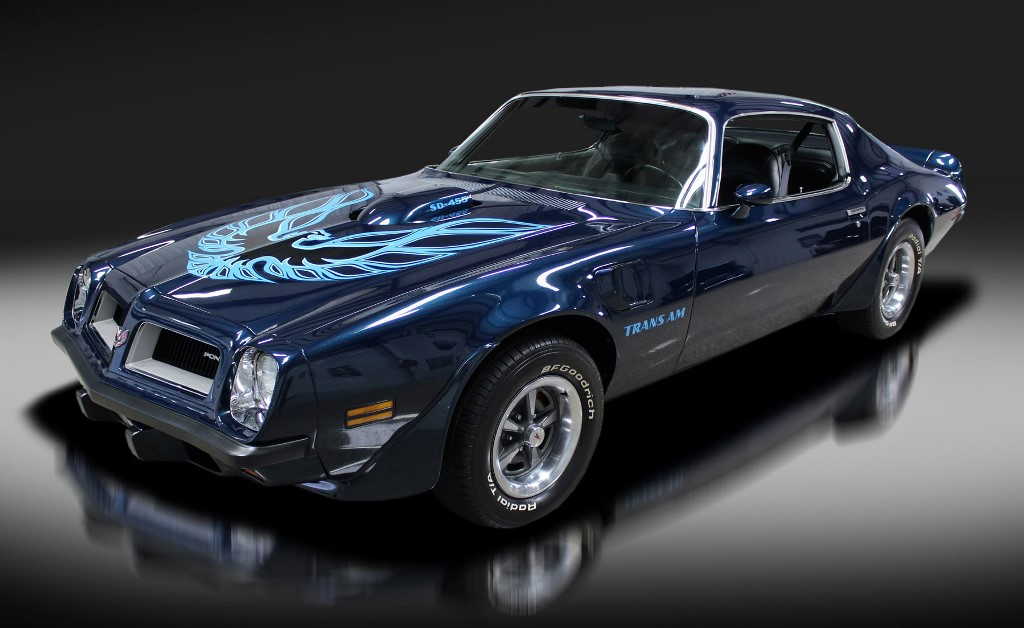 """Will the """"Trans Am trend"""" continue in Palm Beach? This 1974 Pontiac Trans Am Super Duty (Lot #704) is among the great collectibles on this year's Palm Beach docket."""