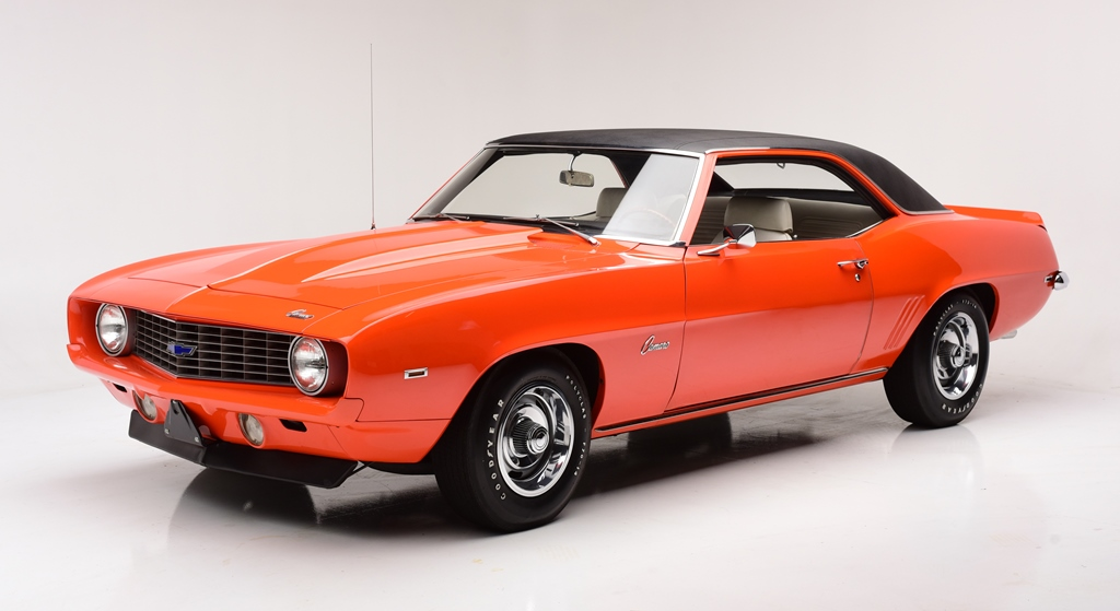 Ready for Florida: this 1969 Chevrolet Camaro COPO (Lot #709).