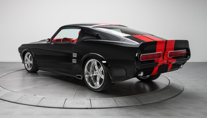 This 1967 Ford Mustang GT Custom Fastback is owned by NFL wide receiver Reggie Wayne.