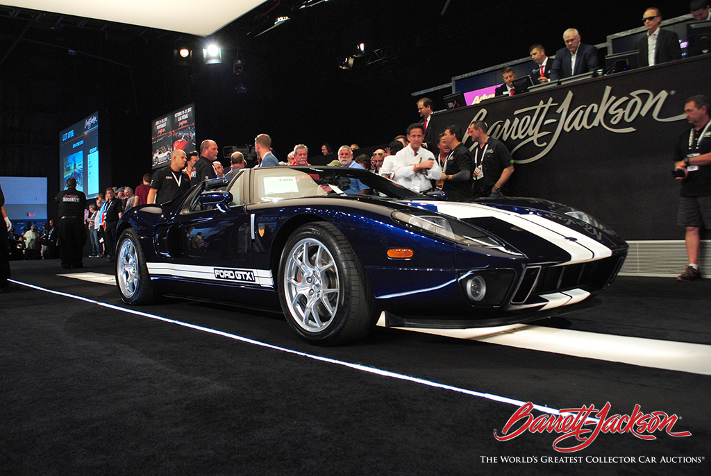 LOT #706 - A 2006 FORD GTX1 - SOLD FOR $401,500 AND WAS THE AUCTION'S TOP SELLER, AS WELL AS  A NEW WORLD RECORD AT AUCTION.