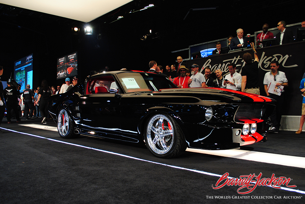 LOT #707 – REGGIE WAYNE'S 1967 FORD MUSTANG GT CUSTOM FASTBACK - $206,800