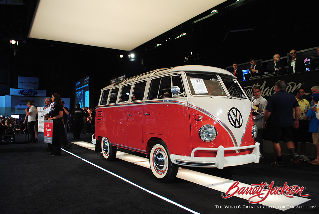 LOT #711 - 1961 VOLKSWAGEN 23-WINDOW DELUXE MICROBUS - $291,500 – A NEW WORLD RECORD AT AUCTION