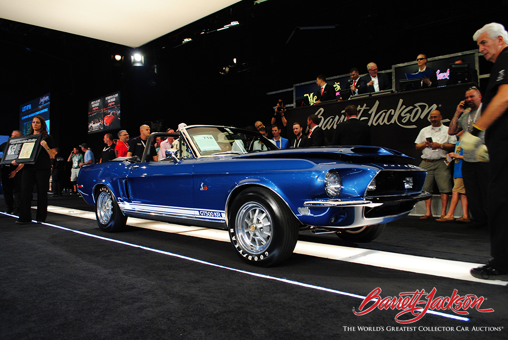 LOT #718 – LEE MARVIN'S 1968 SHELBY GT500KR CONVERTIBLE - $220,000