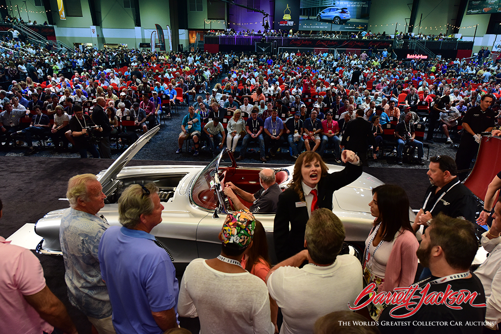 The high energy of collector cars selling at No Reserve during Barrett-Jackson's 15th year in Palm Beach helped drive the highest sell-through rate of any Florida collector car auction, including 14 world records.