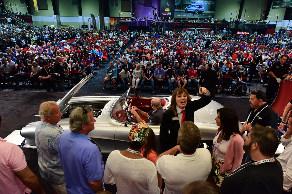 At every Barrett-Jackson auction, the arena is filled with hundreds of prequalified bidders, eager to come home with the car of their dreams.