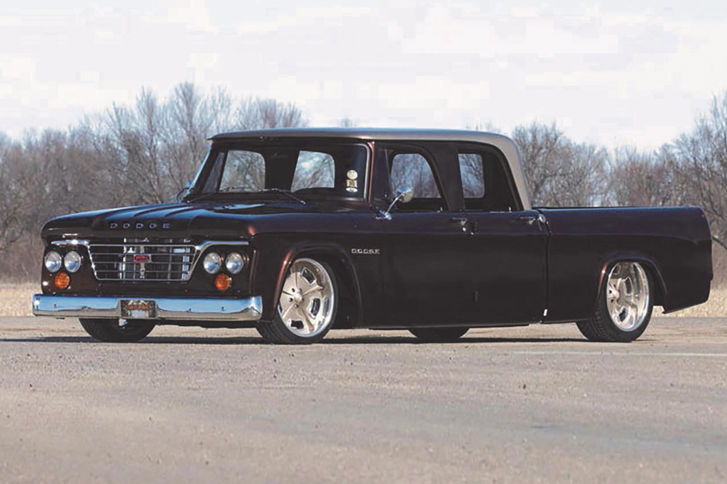 1969 Dodge D-200 Custom Crew Cab Pickup - World Record - $128,700
