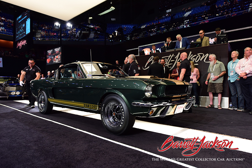 LOT #665.1 – 1966 SHELBY GT350-H FASTBACK - $220,000