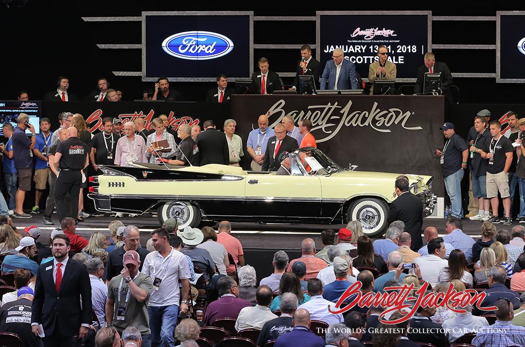 LOT #691 – 1959 DODGE CUSTOM ROYAL SUPER D-500 CONVERTIBLE - $220,000
