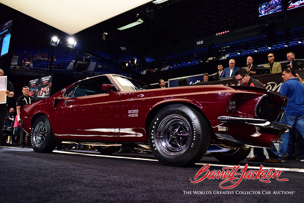 LOT #709 - 1969 FORD MUSTANG BOSS 429 FASTBACK - $407,000