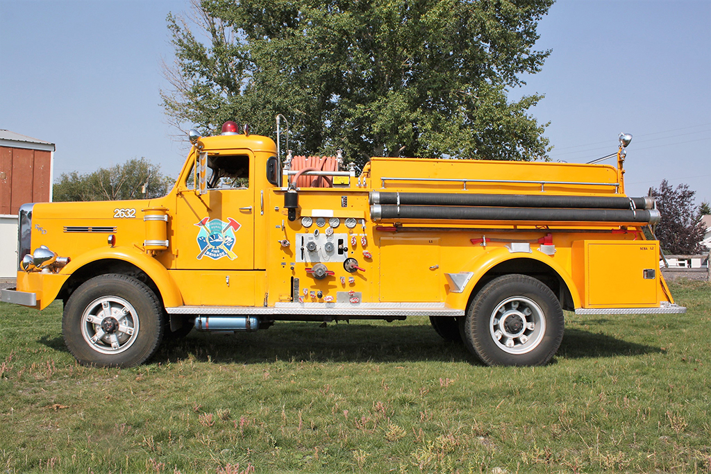 Lot #26 - 1952 FWD Fire Truck Pumper