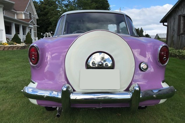 Lot 55 - 1955 Nash Metropolitan_rear