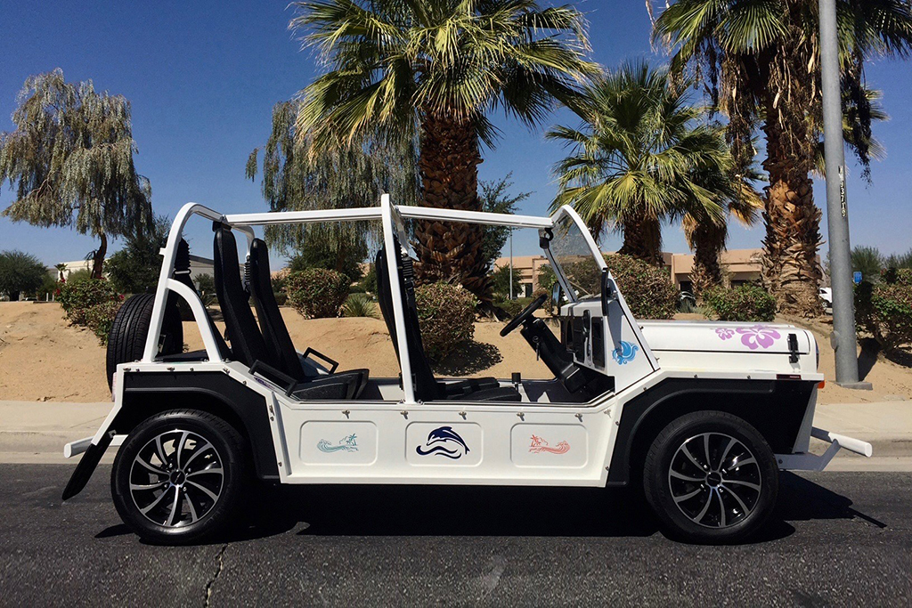 Lot #58 - E-Moke All-Electric Jeep Convertible