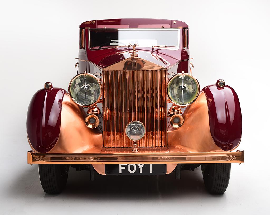 1937 Rolls-Royce Phantom III Sedanca de Ville_front