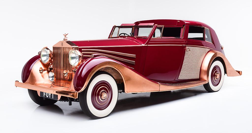 1937 Rolls-Royce Phantom III Sedanca de Ville_front3-4
