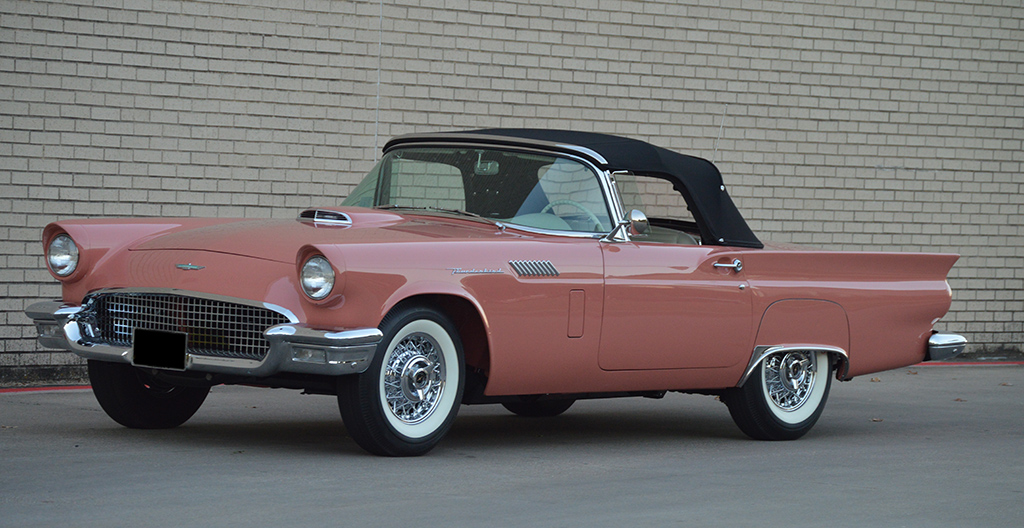 1957 Ford Thunderbird E-code S-code for sale classic car auction