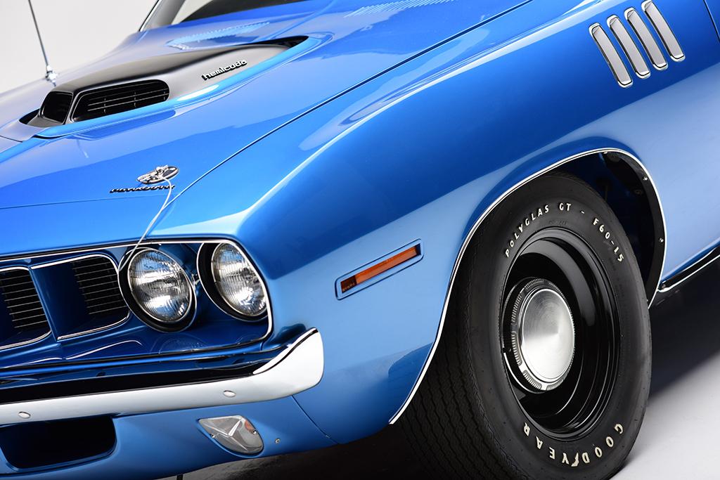 1971 Plymouth HEMI 'Cuda_detail