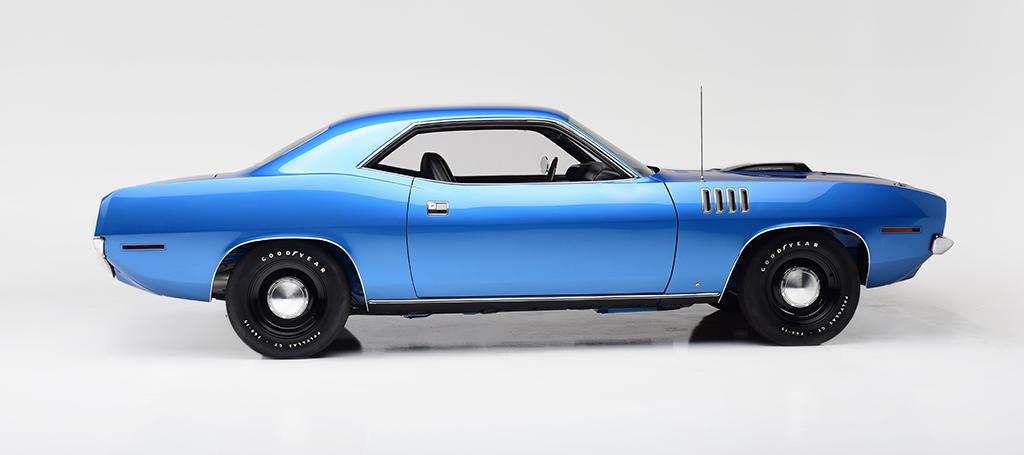 1971 Plymouth HEMI 'Cuda_side
