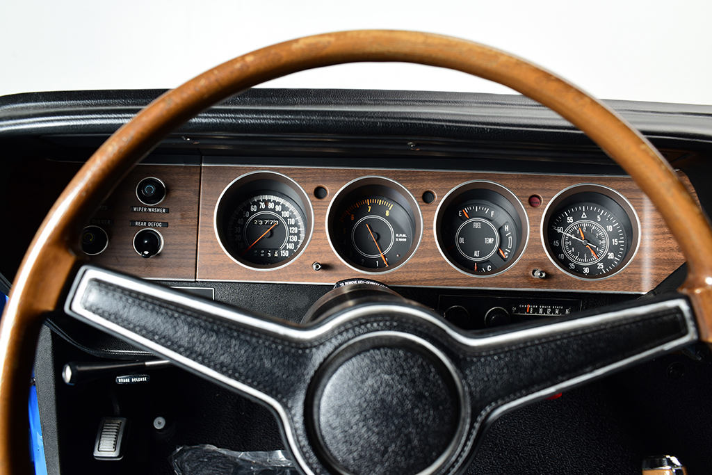 1971 Plymouth HEMI 'Cuda_steering wheel