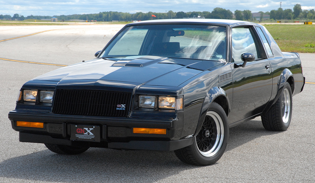 This 1987 Buick Grand National GNX #003 is headed for the Barrett-Jackson Scottsdale Auction at No Reserve.