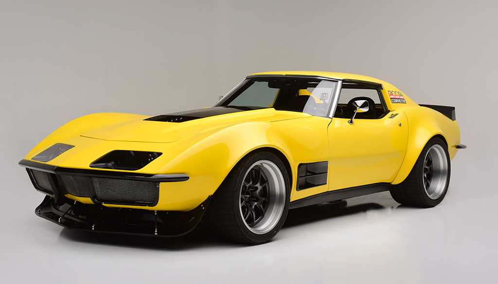 1972 Chevrolet Corvette Coupe_Front_3-4