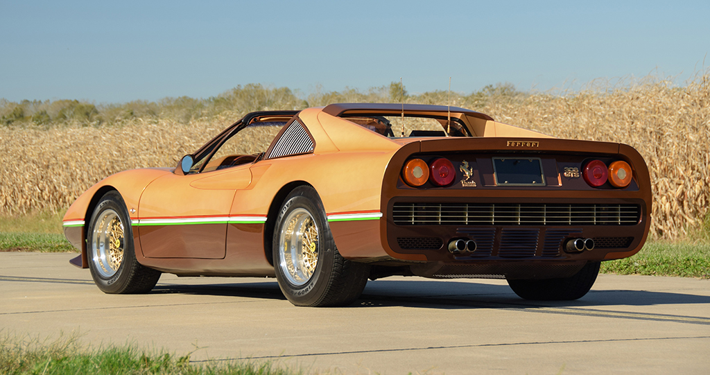Lot 1379 - George Barris 1978 Ferrari 308 GTS Custom Targa_Rear_3-4